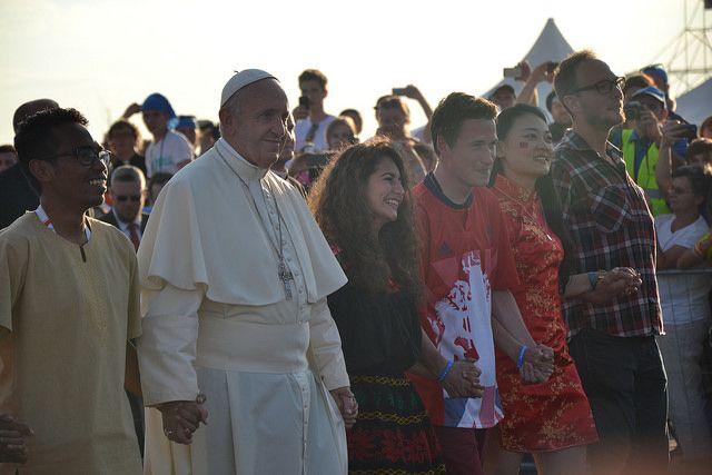 Drogowskazy papieża Franciszka dla młodych z ŚDM w Krakowie