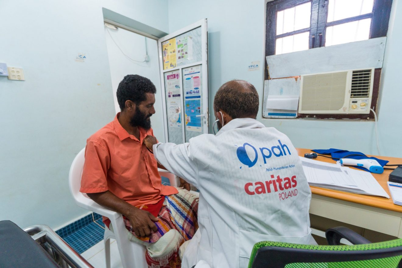 Posłani, by leczyć. Caritas Polska dla Jemenu