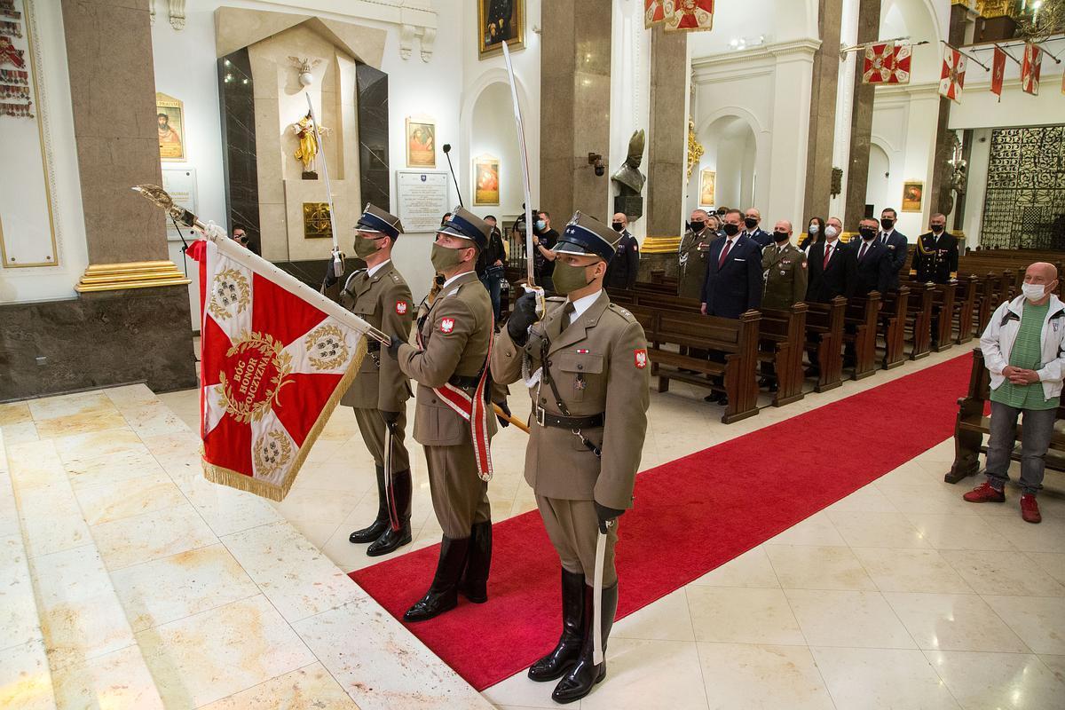 Msza św. w rocznice śmierci Józefa Piłsudskiego i gen. Władysława Andersa