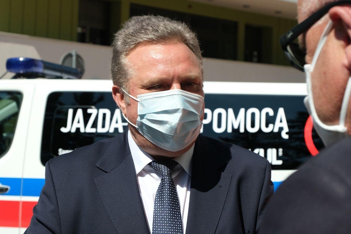 T. Duszyński: Najstarszy szpital lubelski wie co robi i nie narzeka
